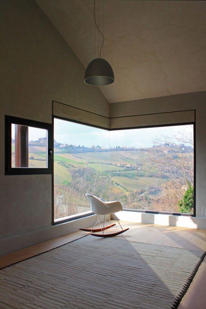 Die sch nsten eckfenster minimal ist muss - Moderne fensterformen ...